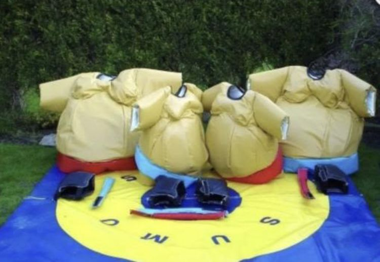 adult and children sumo suit hire in kent, whitstable, canterbury, herne bay, faversham, london, essex