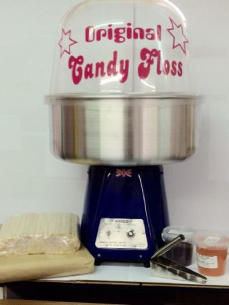 Candy Floss Machine Hire in Kent, Essex, London, Whitstable, Herne Bay, Canterbury and Faversham