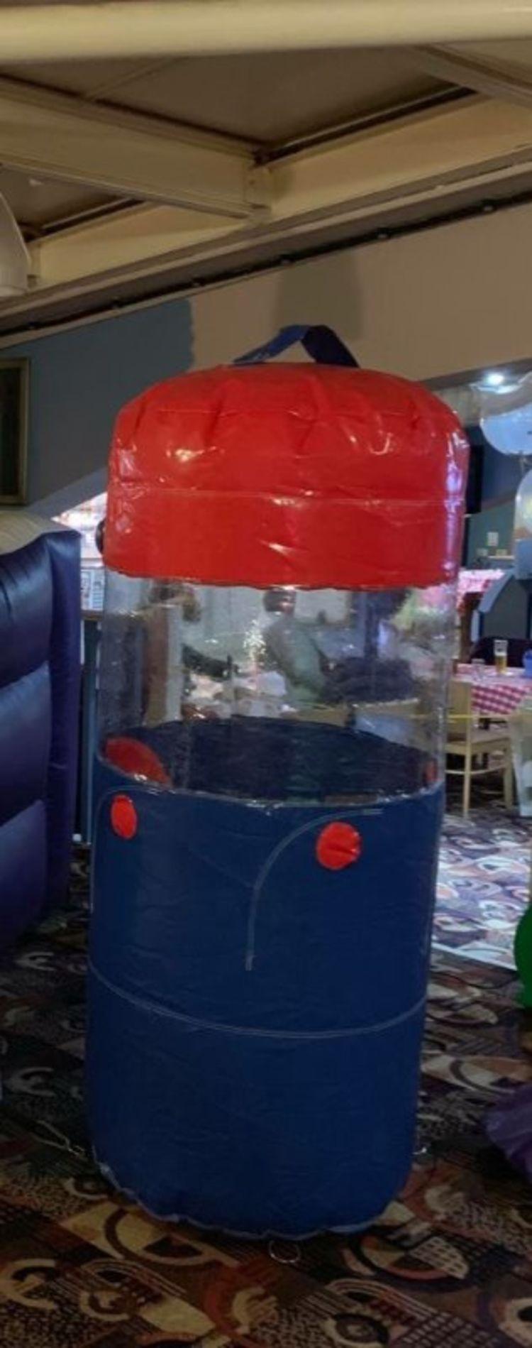 mini inflatable cash grabber hire