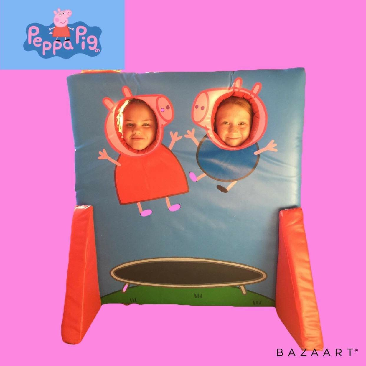 Peppa Pig Photo board hire kent