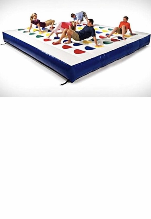 Giant Inflatable Twister Hire Kent, Whitstable, Herne Bay, Canterbury, Faversham and Thanet