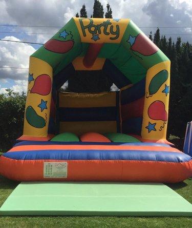 Party Castle 2 bouncy castle hire kent